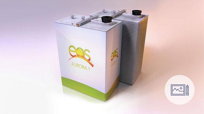 Eos EnergyStorage Illustrations