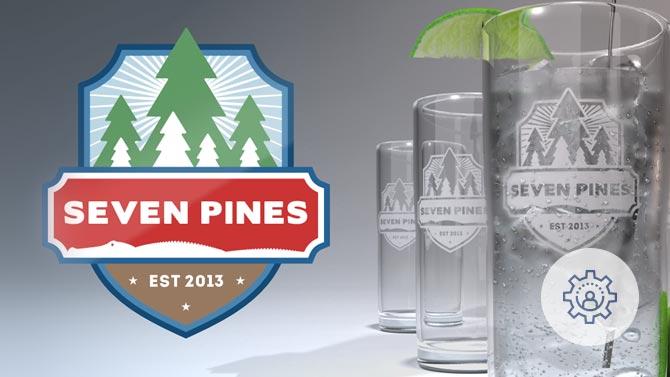 Seven Pines Branding