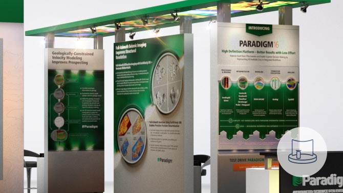 Paradigm Trade Show Design